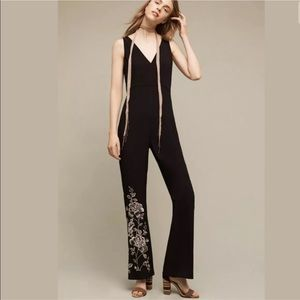 ANTHROPOLOGIE HD in Paris Tal Embroidered jumpsuit